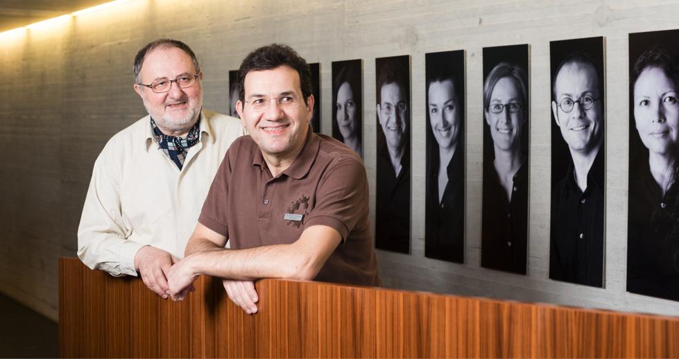 Dr. Klic mit Dr. Caponio