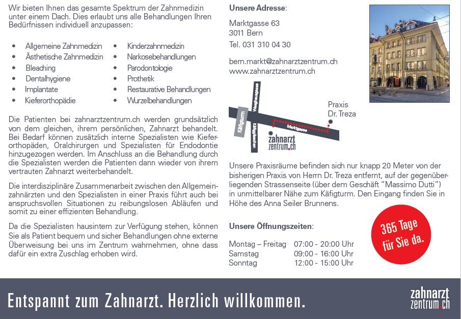 Nachfolge Zahnarztpraxis Bern